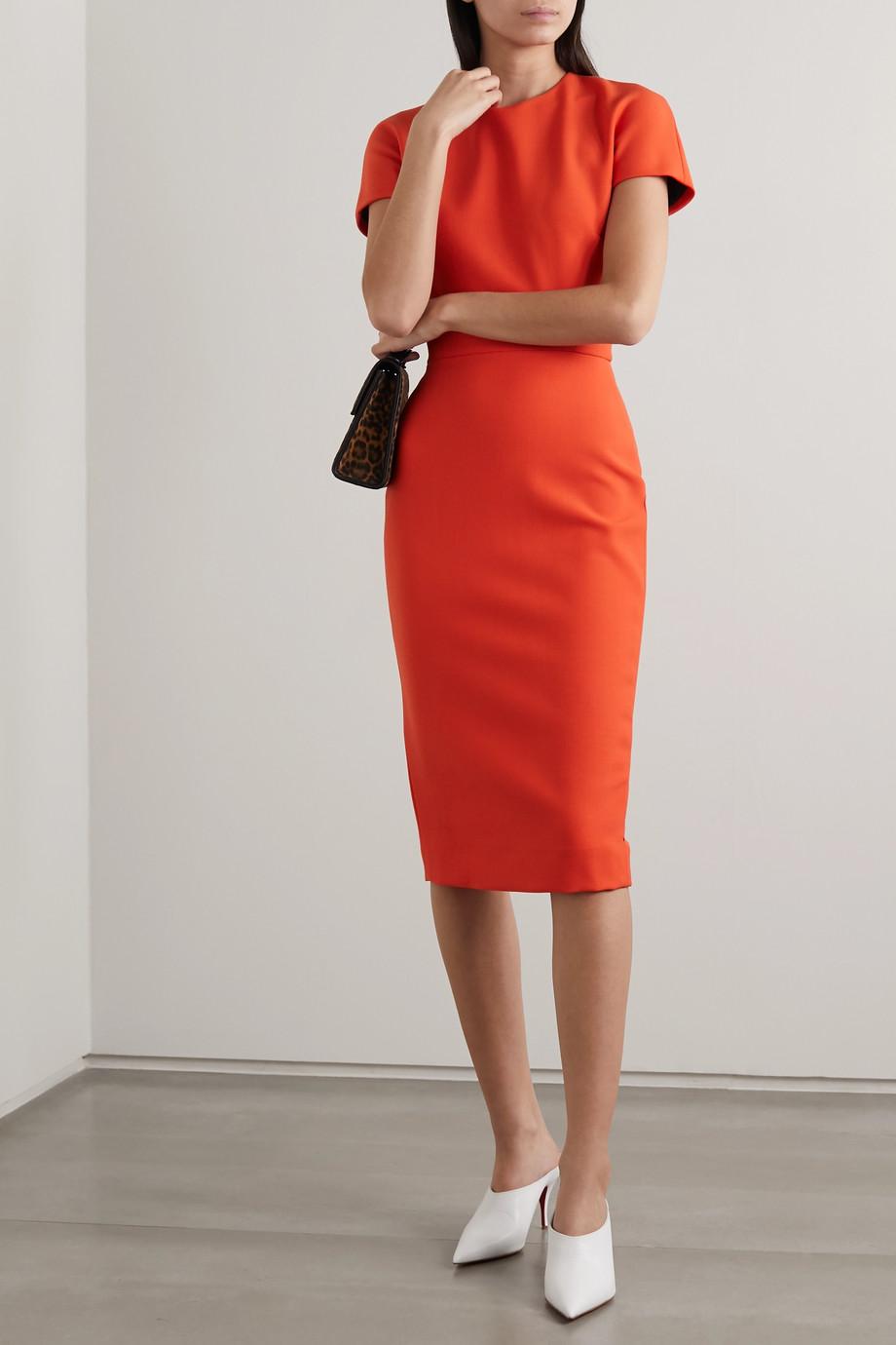 Victoria Beckham Stretch-crepe dress