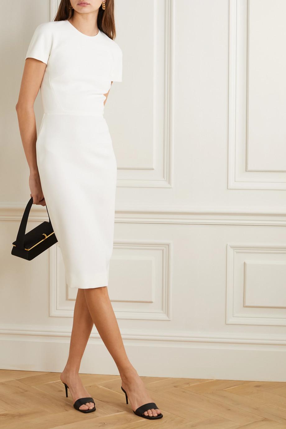 Victoria Beckham Crepe midi dress