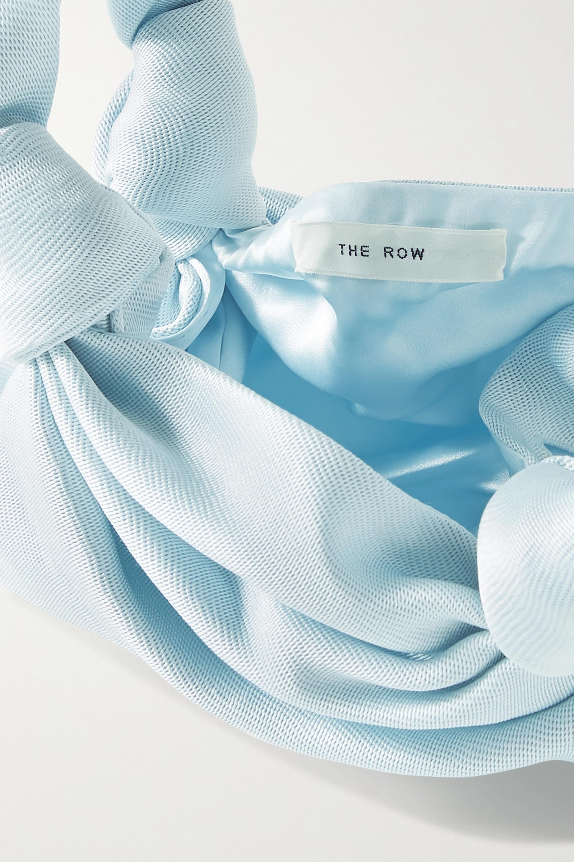 The Row Ascot 缎布手提包