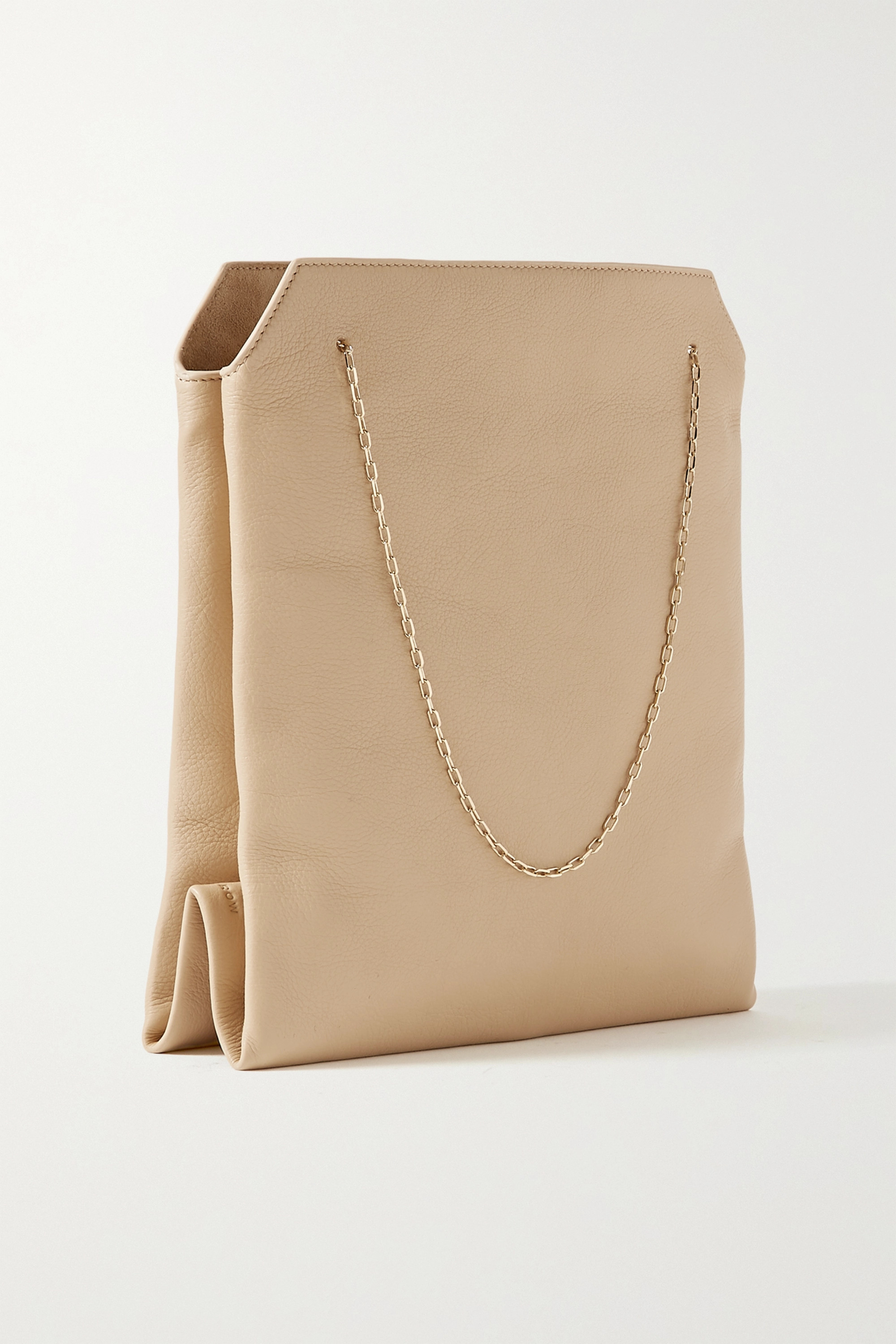 The Row Lunch Bag small leather tote