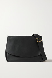 The Row Mail small textured-leather shoulder bag