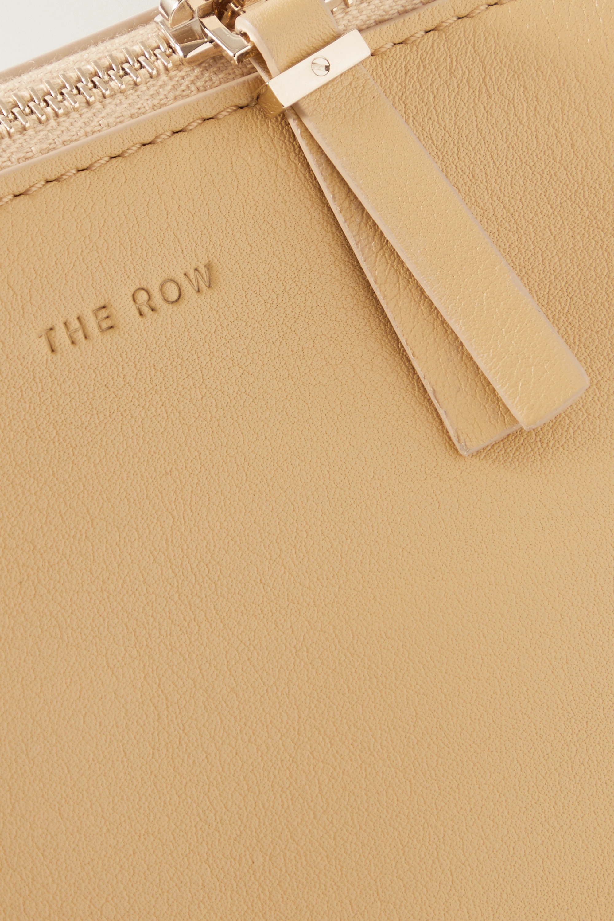 The Row Nu Twin mini leather shoulder bag