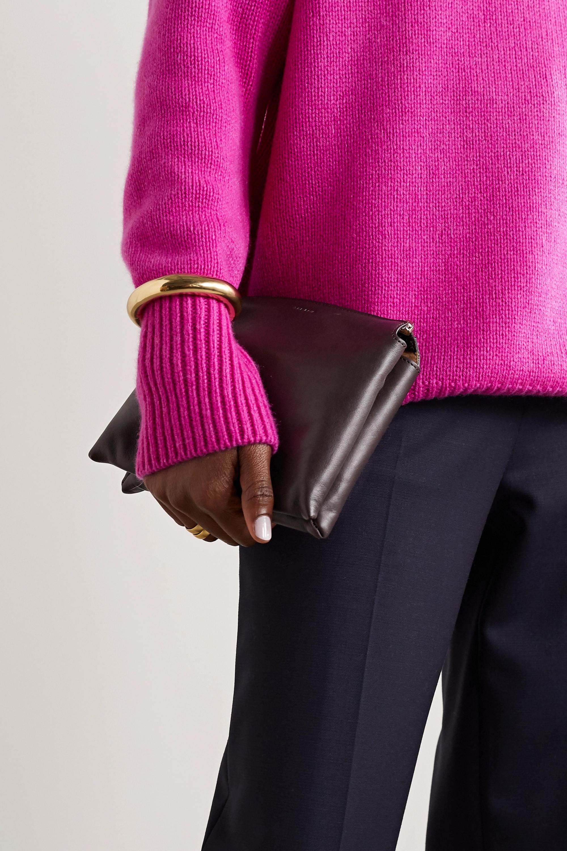 The Row Nu Twin mini leather shoulder bag