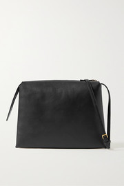 The Row Nu Twin medium leather shoulder bag