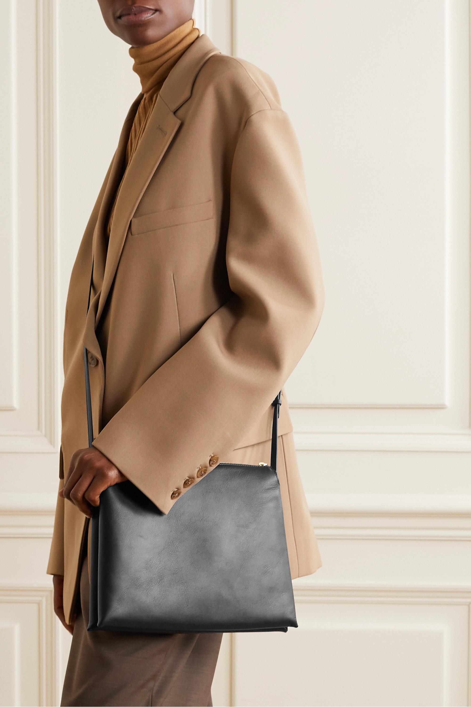 The Row Nu Twin medium leather shoulder bag