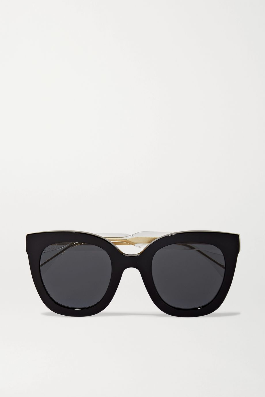 Gucci Anima Décor 超大款板材猫眼太阳镜