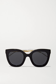 Anima Décor oversized cat-eye acetate sunglasses