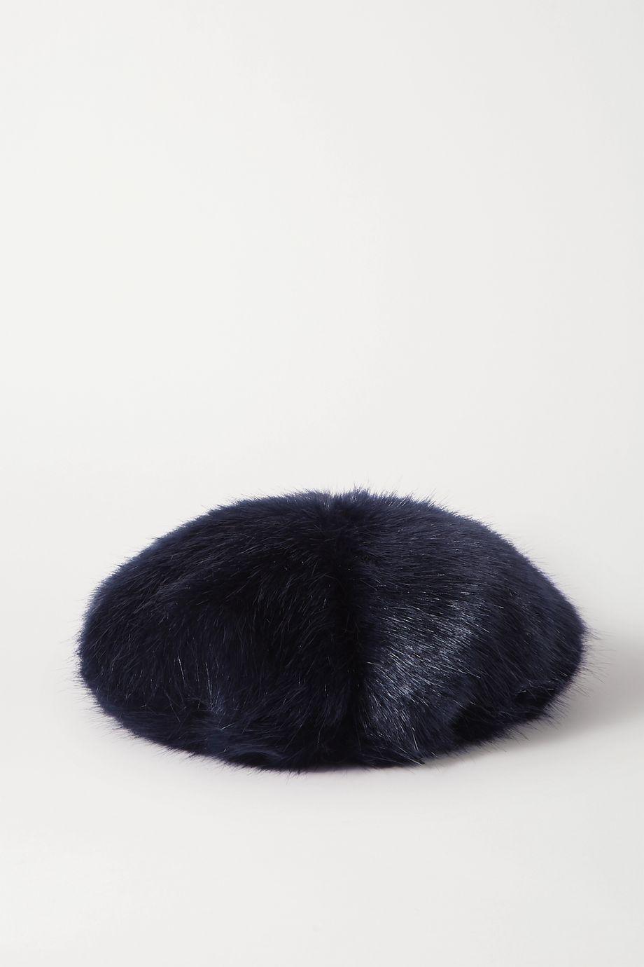 unknown Faux fur beret