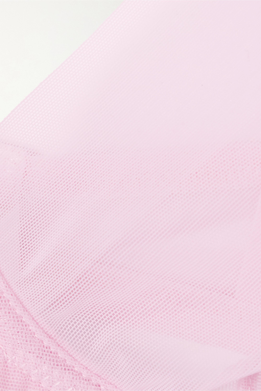 Les Girls Les Boys Stretch-mesh underwired bra
