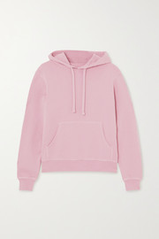 Les Girls Les Boys Printed cotton-jersey hoodie