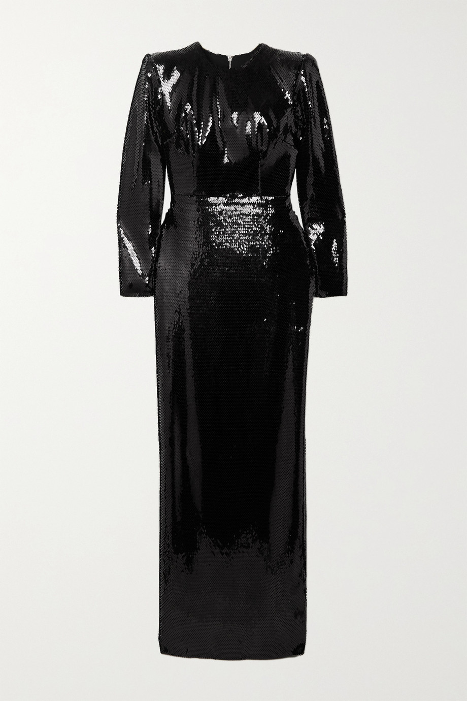 Alex Perry Hutton sequined satin gown