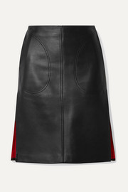Peter Do Leather skirt