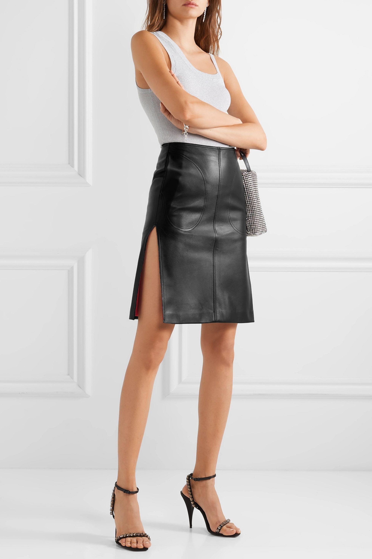 Peter Do 皮革半身裙