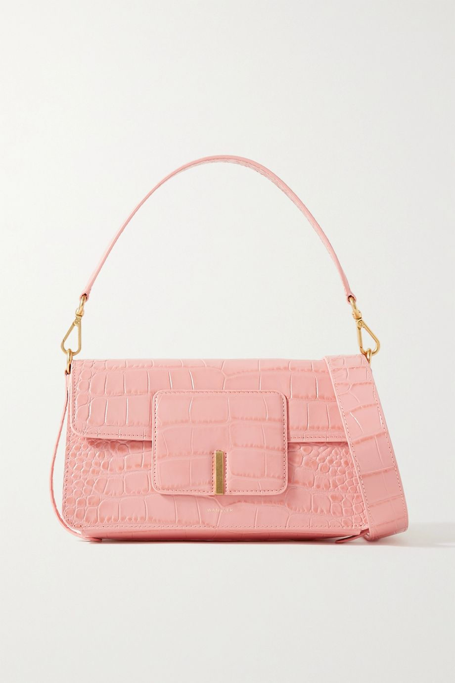 Wandler Georgia croc-effect leather shoulder bag