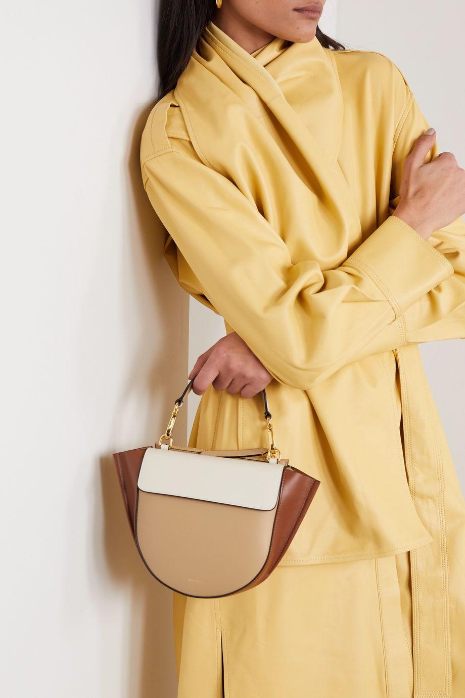 Wandler Hortensia mini color-block leather shoulder bag
