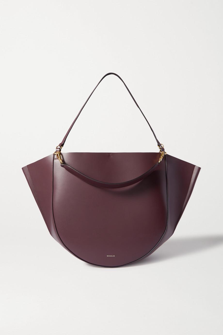 Wandler Mia large leather shoulder bag