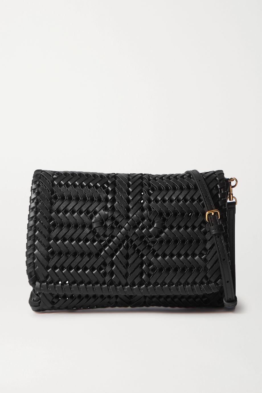 Anya Hindmarch Neeson woven leather shoulder bag