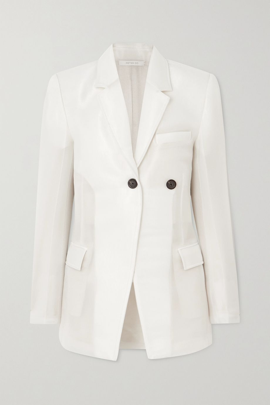 Peter Do Crepe blazer