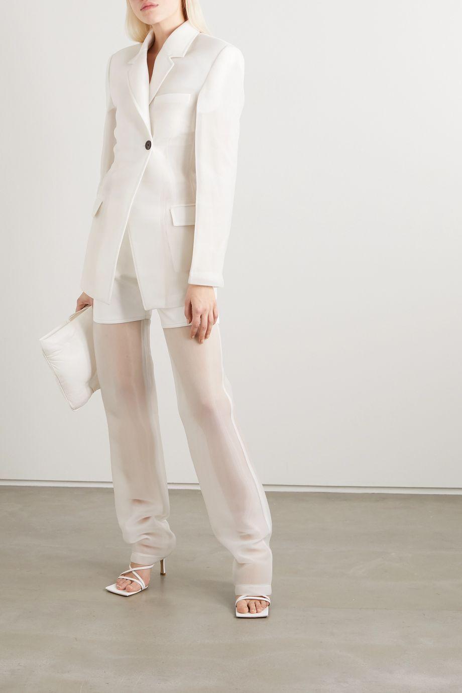 Peter Do 绉纱西装外套