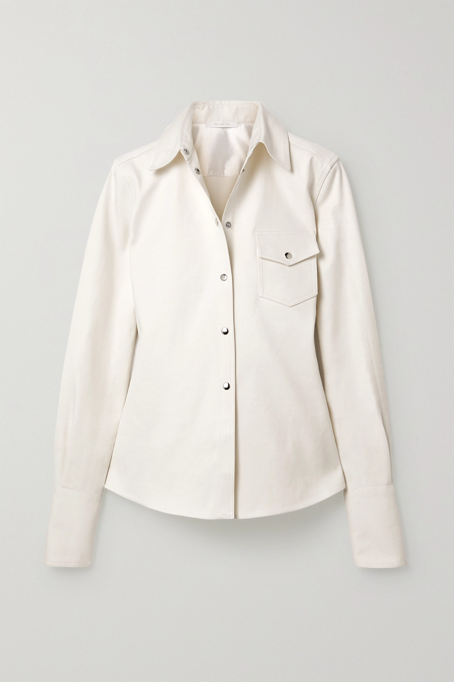 Peter Do Cotton-twill shirt