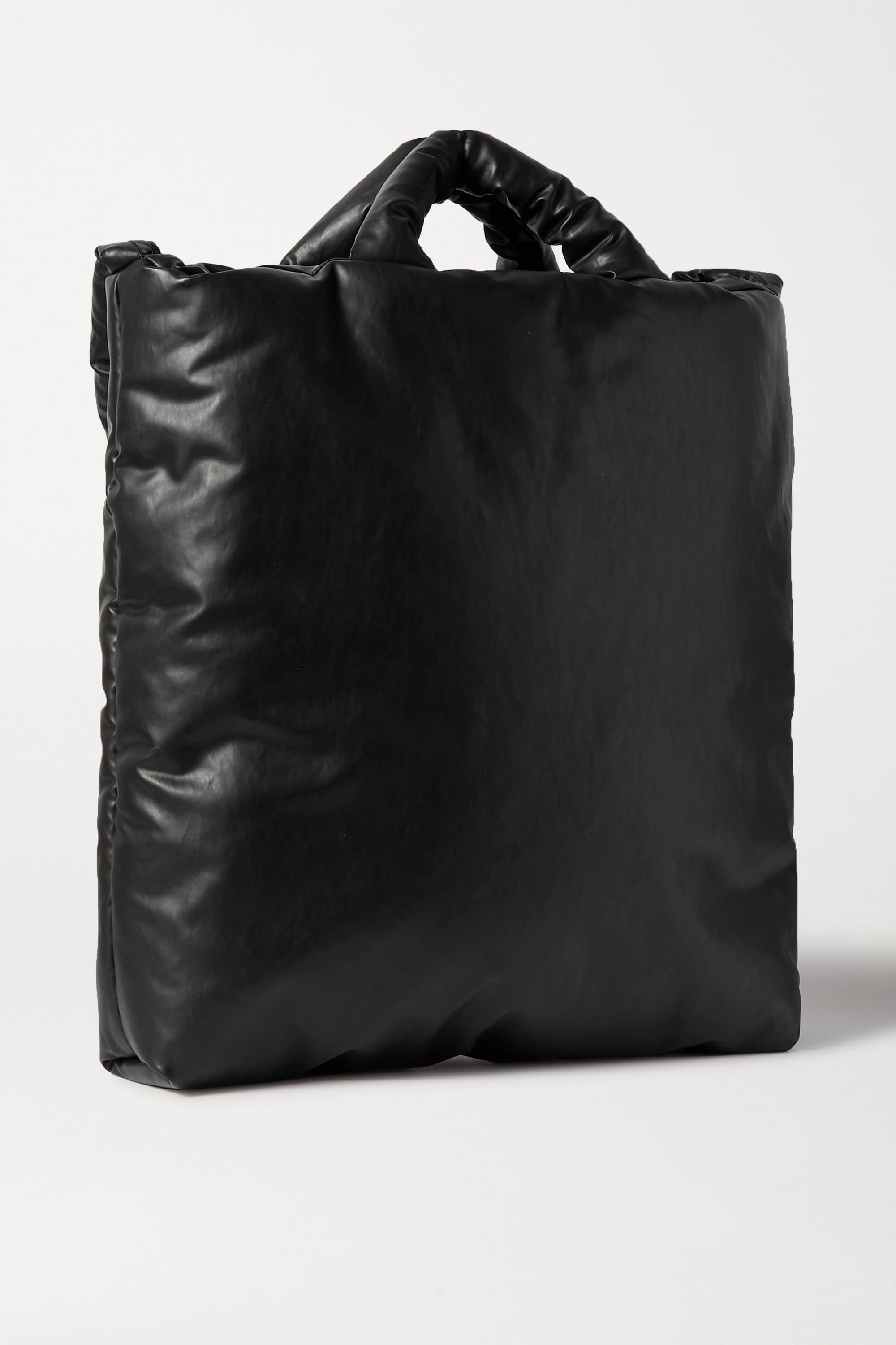 Kassl Editions Oil padded coated cotton-blend tote