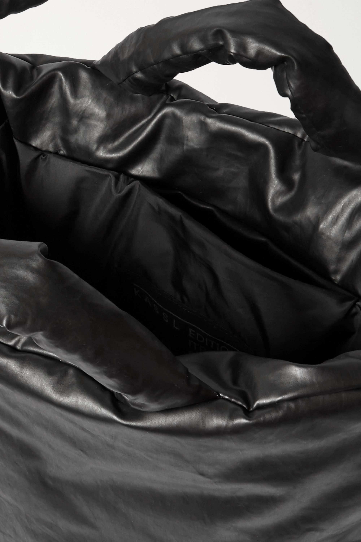 Kassl Editions Oil 带填充物涂层棉质混纺手提包