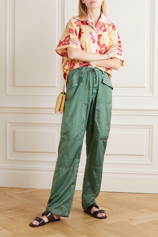 Wales Bonner Havana floral-print cotton-poplin shirt