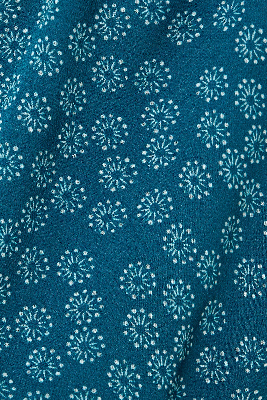 ARoss Girl x Soler Amanda floral-print silk-georgette midi dress