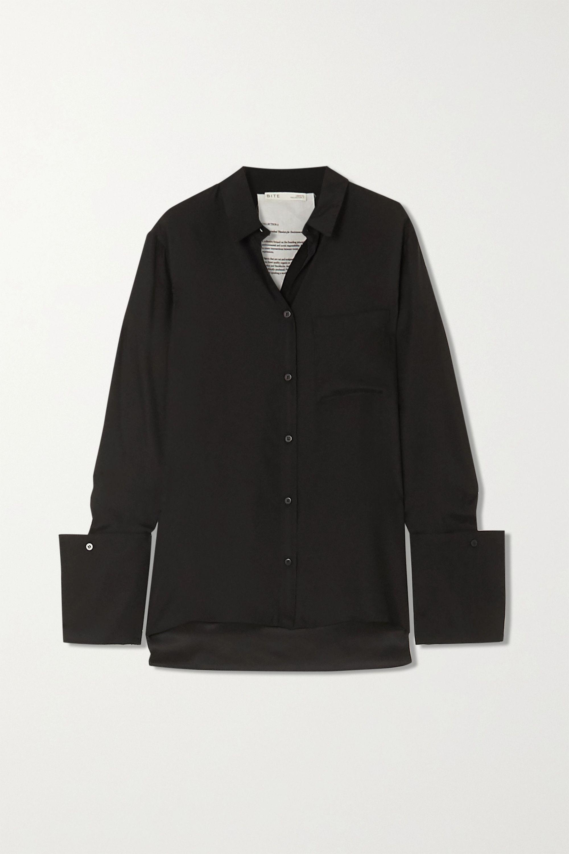 BITE Studios + NET SUSTAIN signature organic silk shirt
