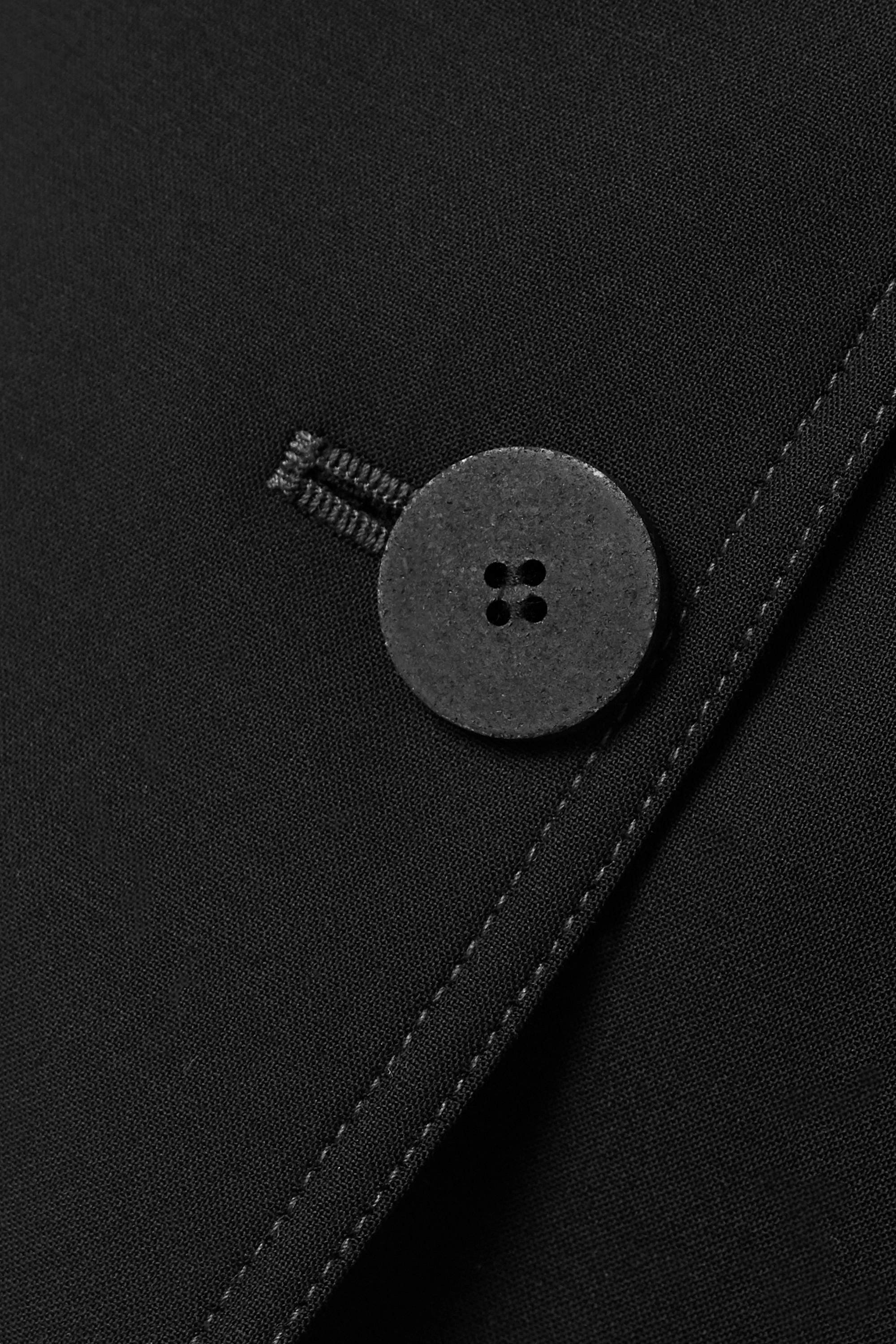BITE Studios + NET SUSTAIN belted organic wool-blend jacket