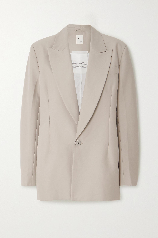 BITE Studios + NET SUSTAIN organic cotton-twill blazer