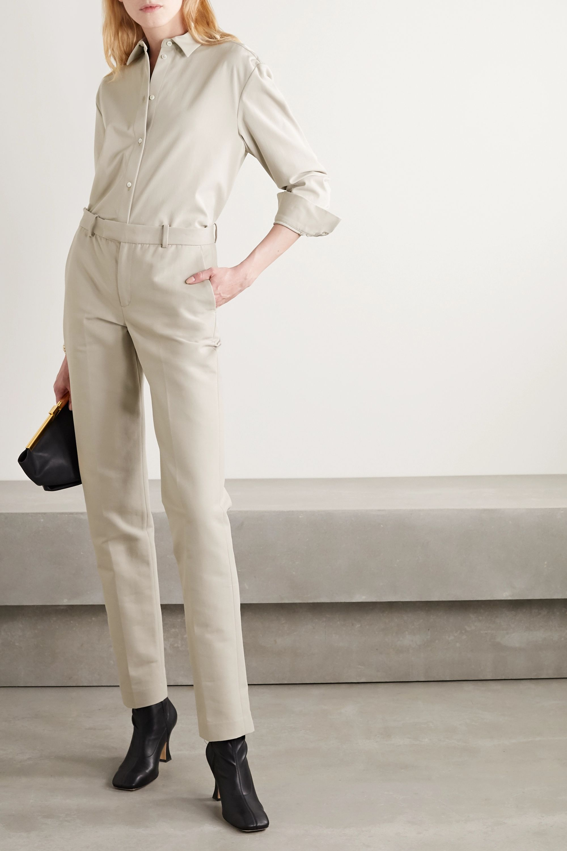 BITE Studios +NET SUSTAIN organic cotton straight-leg pants