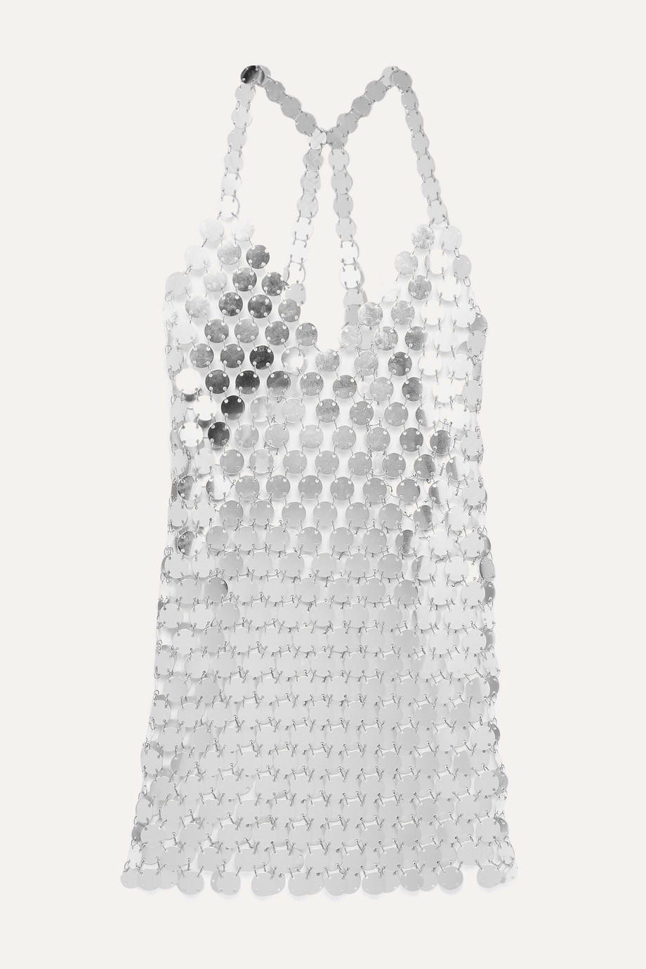 Fannie Schiavoni | Cara chainmail mini dress | NET-A-PORTER.COM