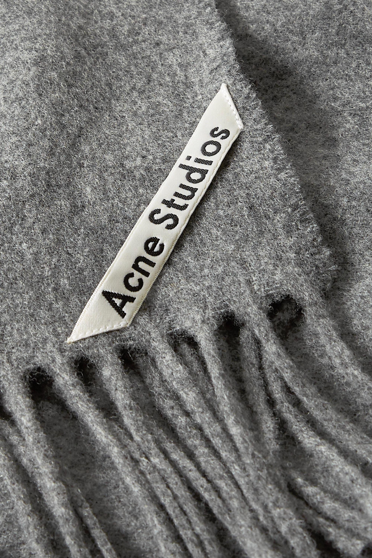 Acne Studios Canada Wollschal mit Fransen