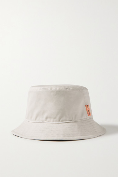 Acne Studios - Cotton-canvas Bucket Hat - Beige