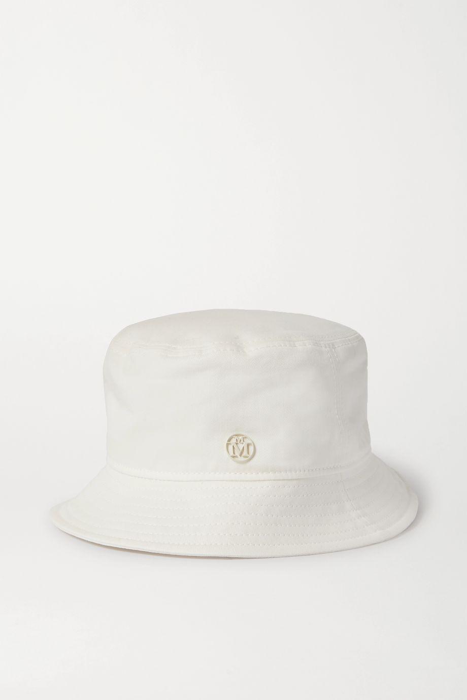 Maison Michel Jason cotton-twill bucket hat