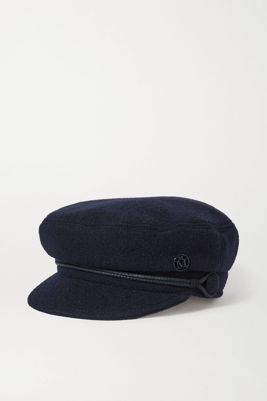 Maison Michel New Abby embellished wool cap