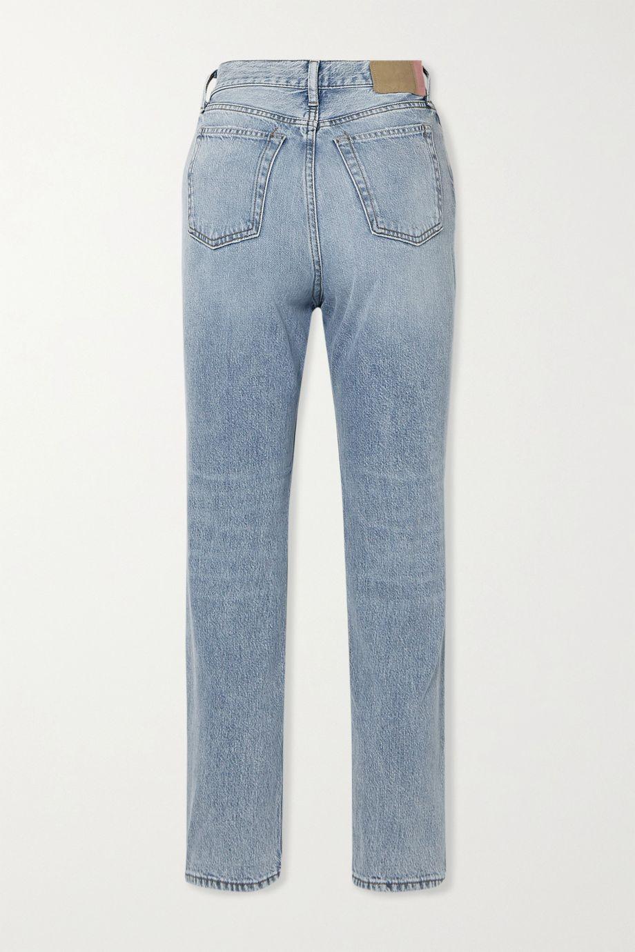 Acne Studios + NET SUSTAIN high-rise straight-leg jeans