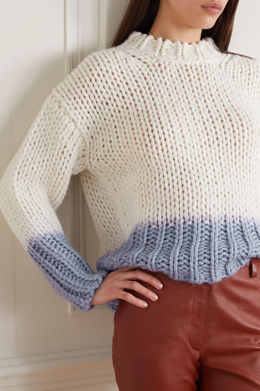 Acne Studios Dégradé knitted sweater