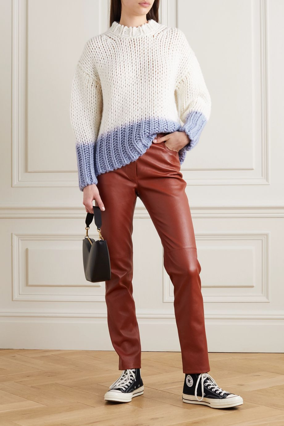 Acne Studios Dégradé knitted sweater