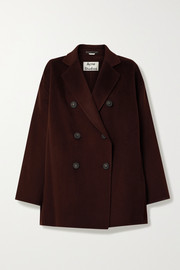 Acne Studios Odine double-breasted wool coat