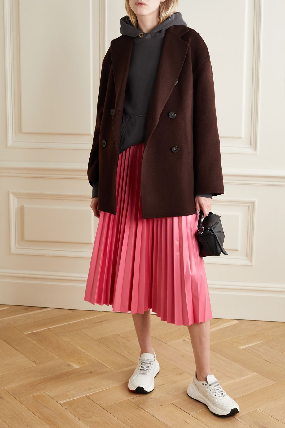 Acne Studios Double-breasted wool coat