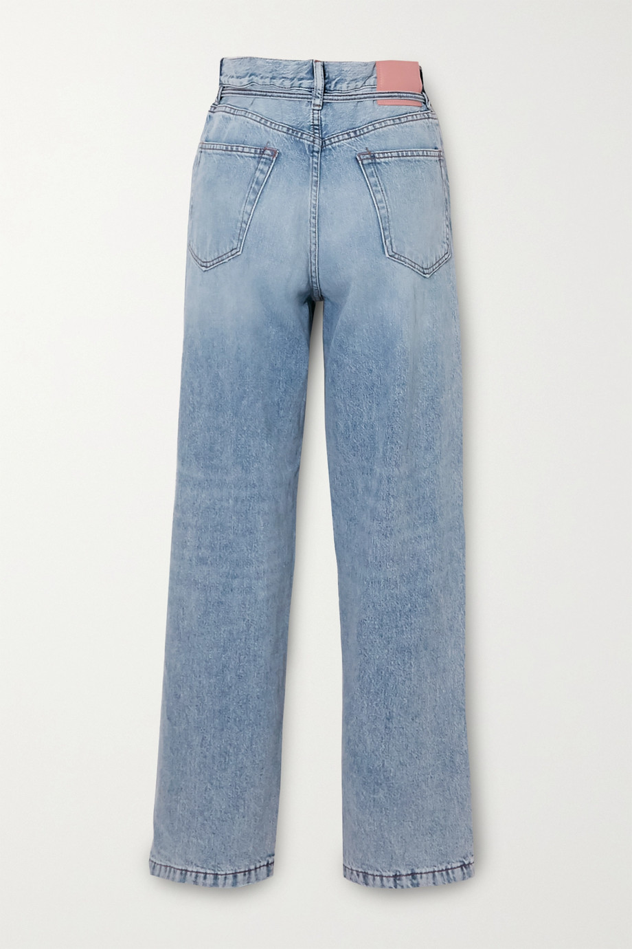 Acne Studios 有机高腰直筒牛仔裤
