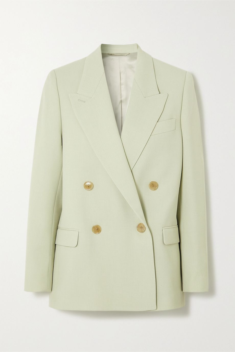 Acne Studios Double-breasted canvas blazer