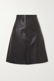 Lisbeth leather skirt