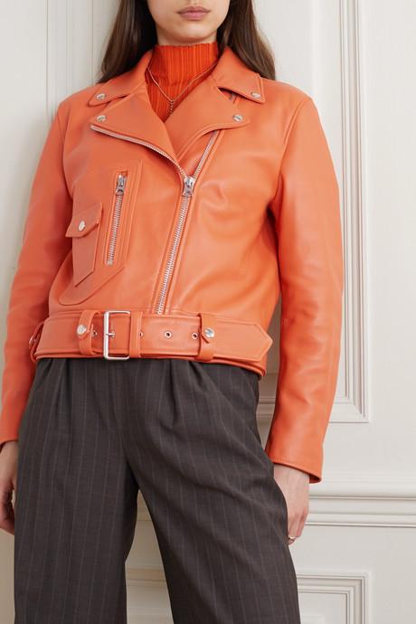 New Merlyn leather biker jacket