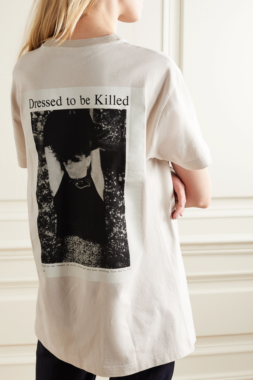 Acne Studios + NET SUSTAIN printed cotton-jersey T-shirt