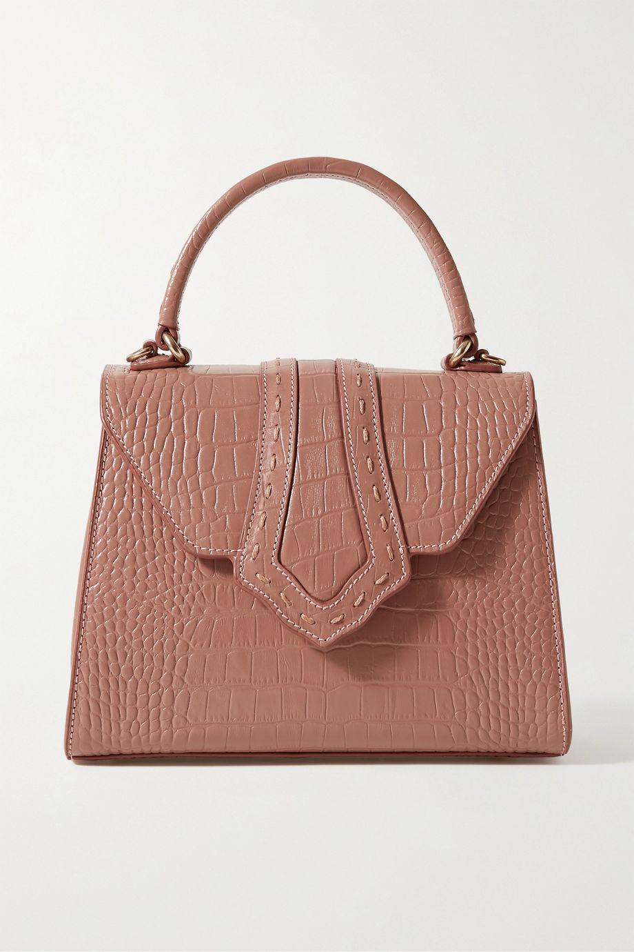 Mehry Mu Fey croc-effect leather tote