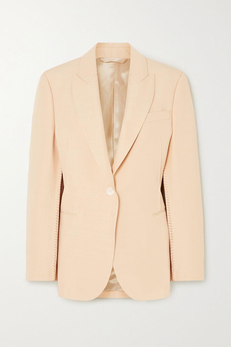 Acne Studios Whipstitched woven blazer