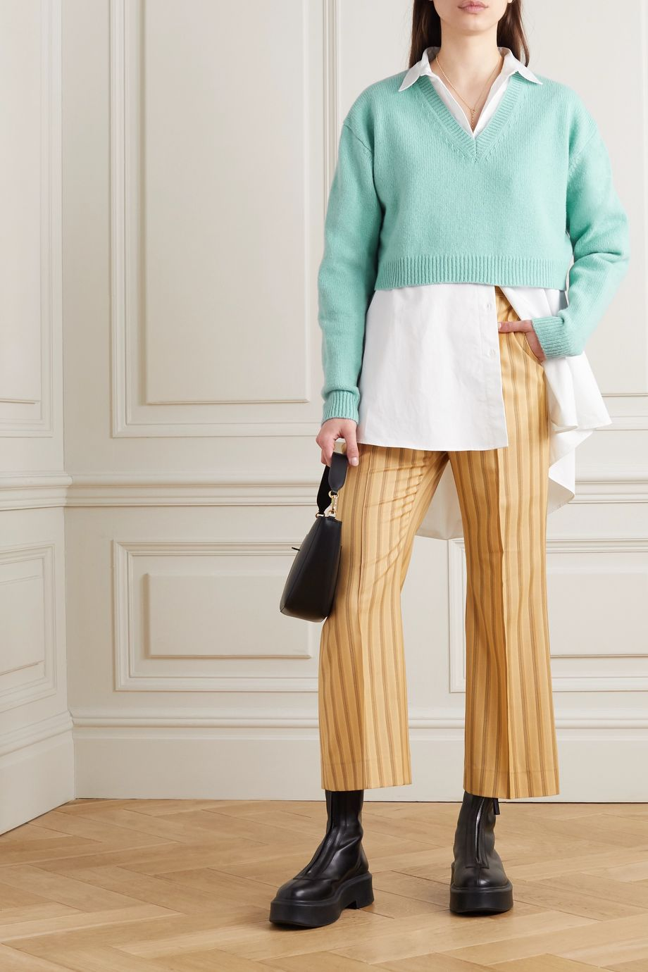 Acne Studios Cropped wool sweater